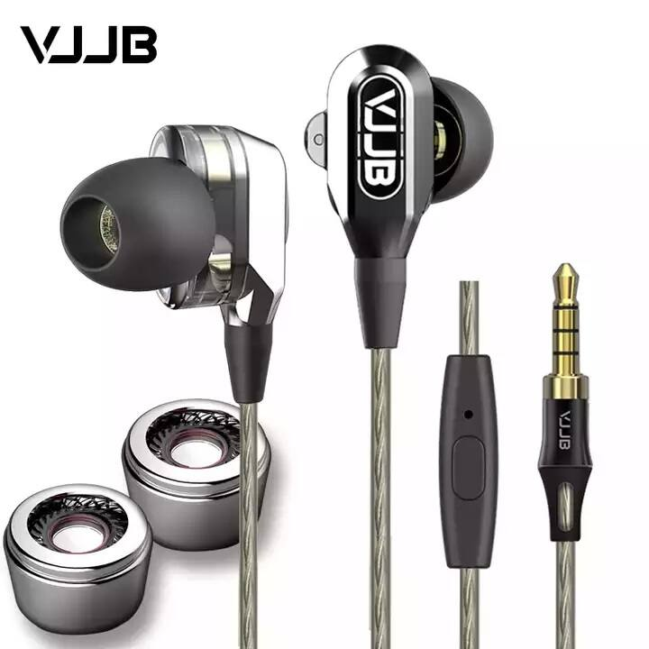 ActionPie VJJB-V1S High Resolution Heavy Bass In-ear Headphones with Mic for SmartPhones for $11.99AC on Amazon