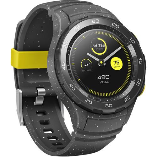 Huawei Watch 2 Sport Smartwatch (Concrete Gray) + B&H Photo Video ...