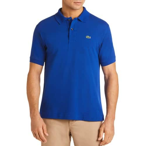 Lacoste Pique Classic Fit Polo, Captain Blue only, for $26.85 + Tax, , Sizes L-XXL at Bloomingdale's until 12/3