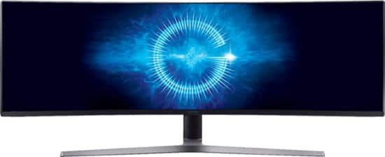 """Samsung 49"""" HDR LED Curved Monitor $699.99"""