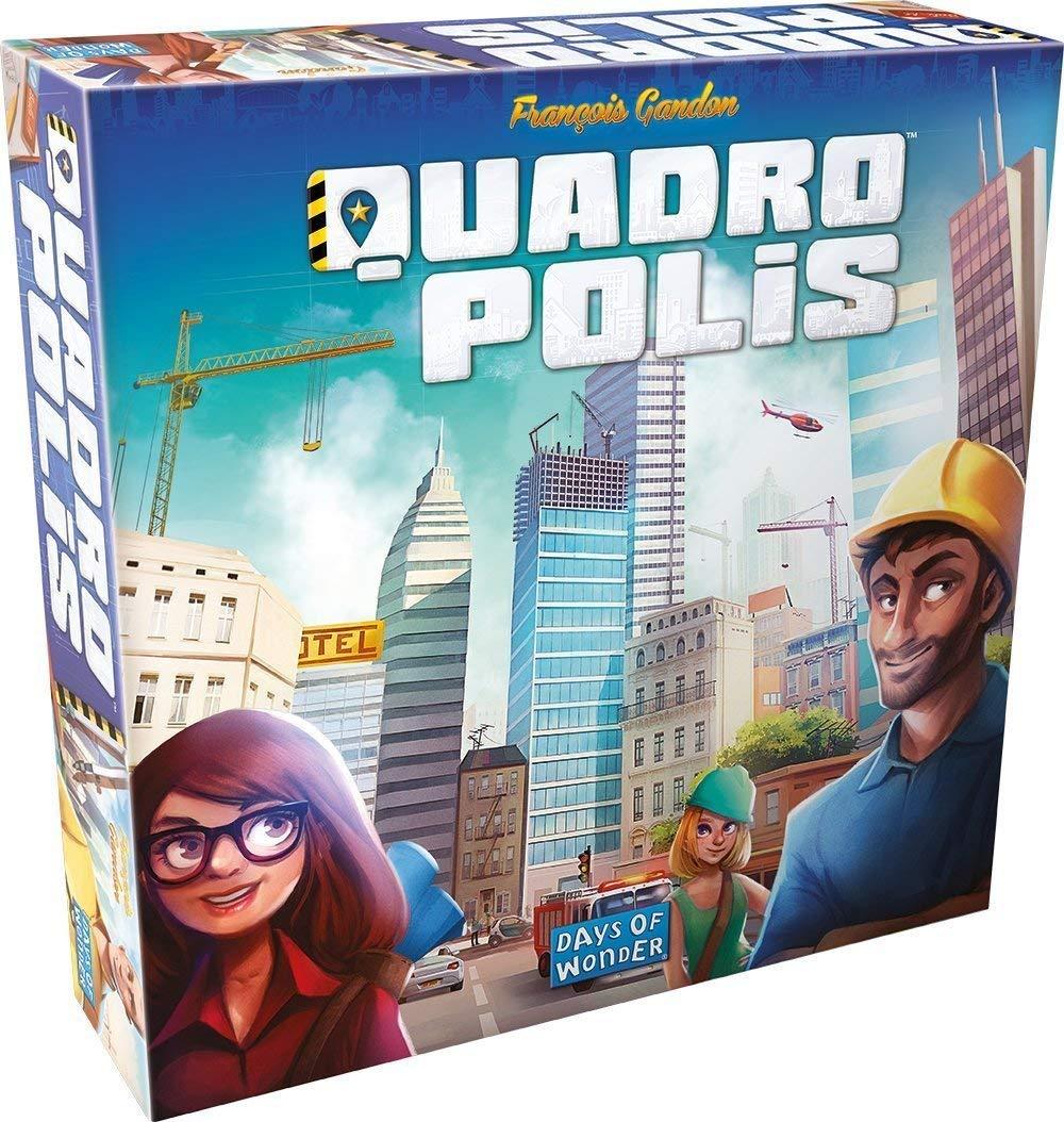 Amazon: Quadropolis Board Game $22.02