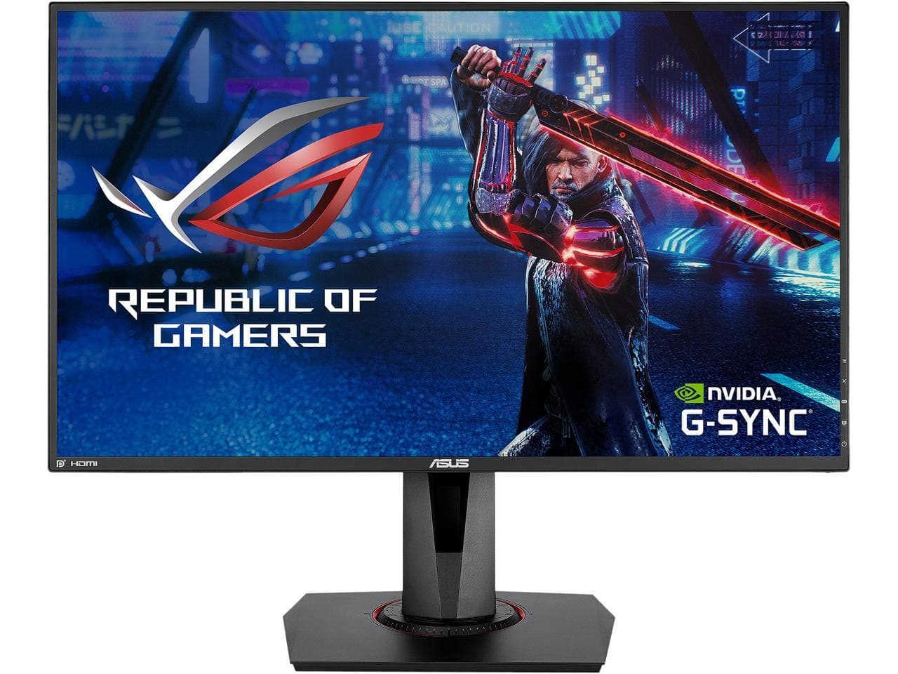 """ASUS VG278QR 27"""" FHD 165Hz G-SYNC LED Gaming Monitor $180 at Newegg"""