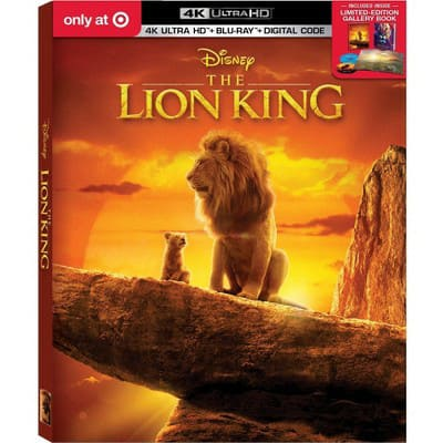 The Lion King (2019) (Target Exclusive) (4K/UHD) ...