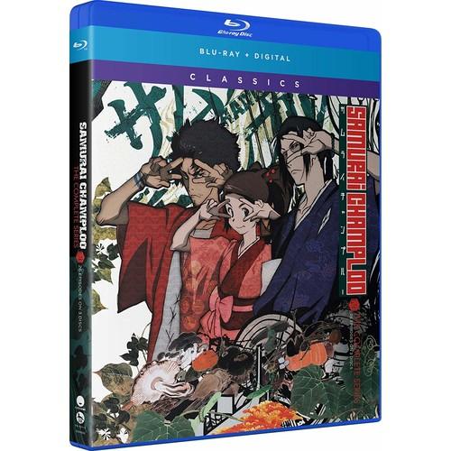 Samurai Champloo Complete Series (BluRay + Digital) for $19.99 Amazon