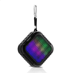 LED Waterproof Outdoor Bluetooth Speaker $27.99 AC ($12 off) + Free Shipping @ Amazon.com