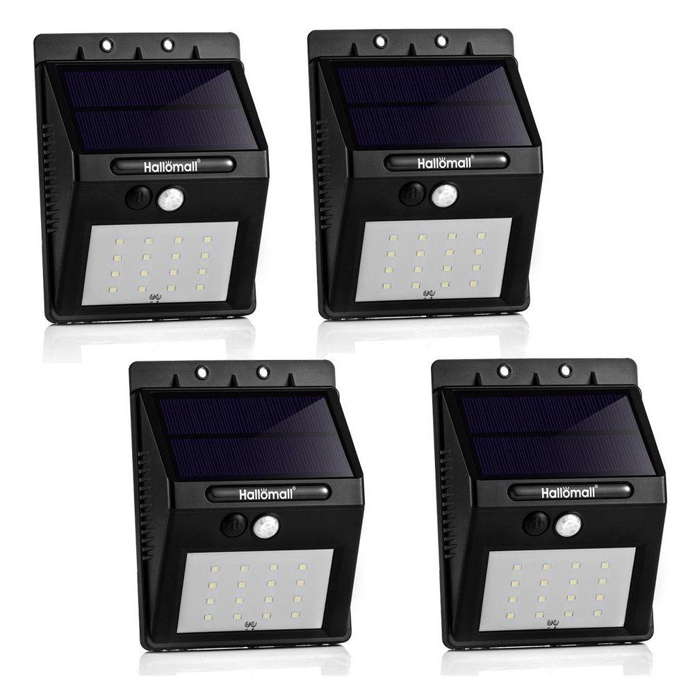 16 LED Outdoor Solar Motion Light [4-pack] $39.99 FS w/ Prime @ Amazon