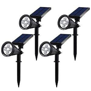 In-Ground Solar Spot Lights [4 pack]: $39.99 FSSS @ Amazon