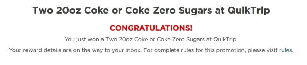 Coca-Cola com/offers (formerly My Coke Rewards) / Discussion