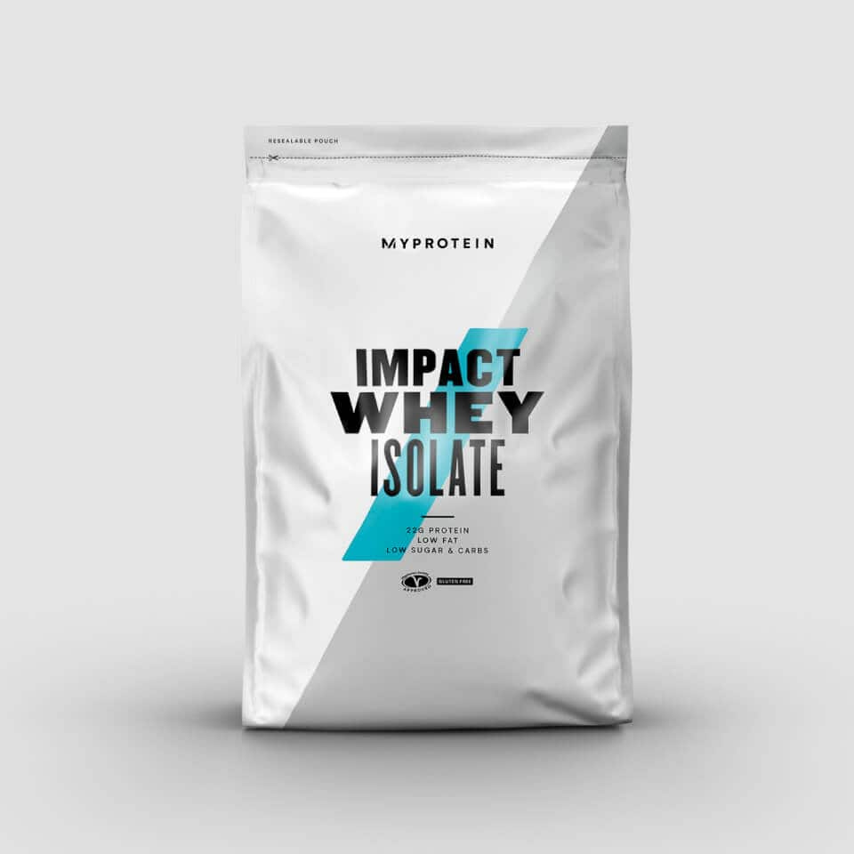 11 lbs Whey Protein Isolate (various flavors and unflavored) - $60 - Free Ship - Myprotein $60.08