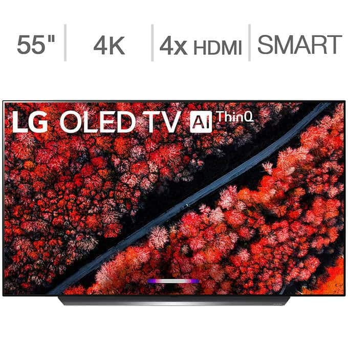"Costco: LG 55"" Class - C9 Series - 4K UHD OLED TV - $100 SquareTrade Warranty Bundle Included + $150 Costco Card $1,449.99 + FS"