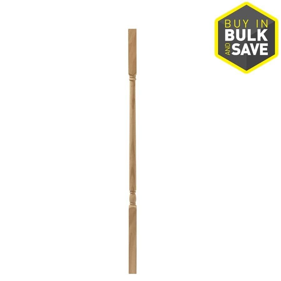 EverTrue 38-in Unfinished Wood Colonial Stair Baluster YMMV @ Lowes : $1.68