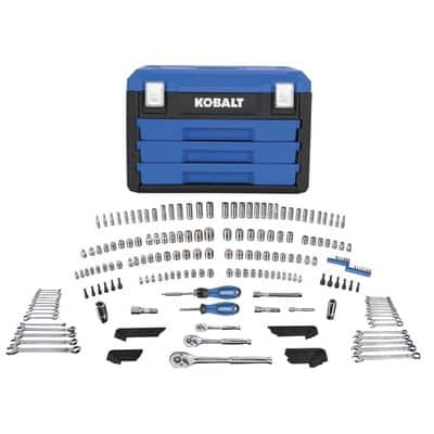 Kobalt 227-Piece Mechanic's Tool Set with Case (Metal Latches) $34.98