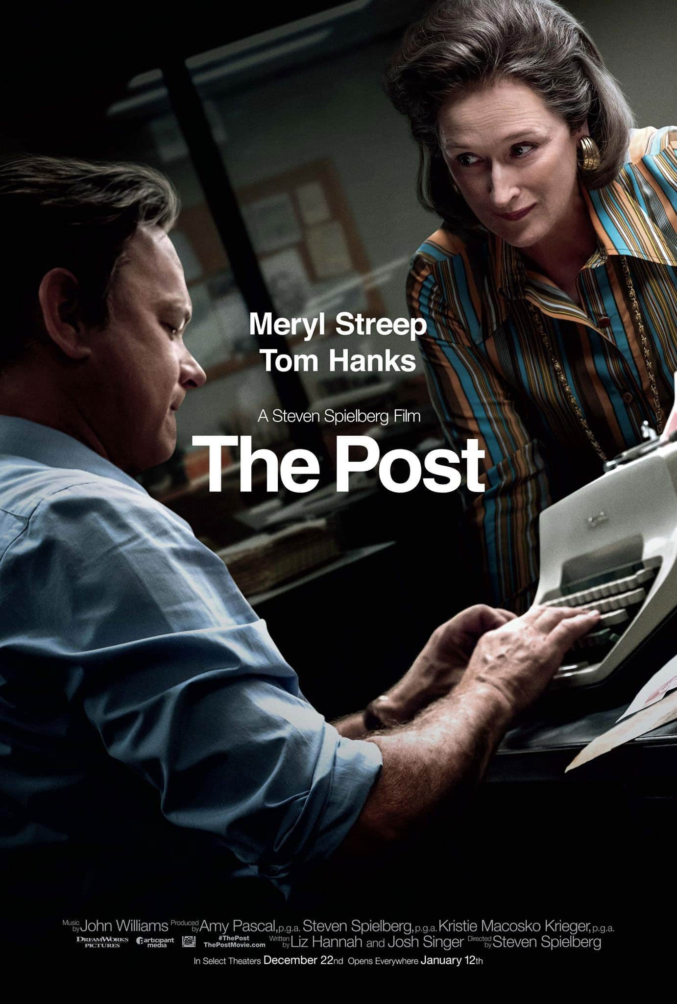 Buy a Ticket to See THE POST, Get a Free 6 Week Subscription to the Washington Post