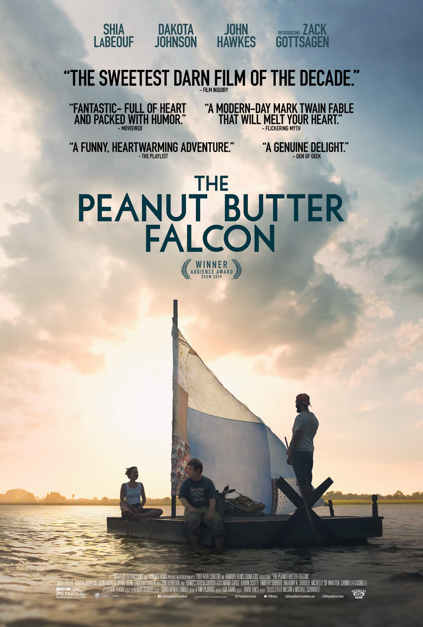 AMC Stub Members: check your text to link for Free Movie Screening Aug 14- of The Peanut Butter Falcon