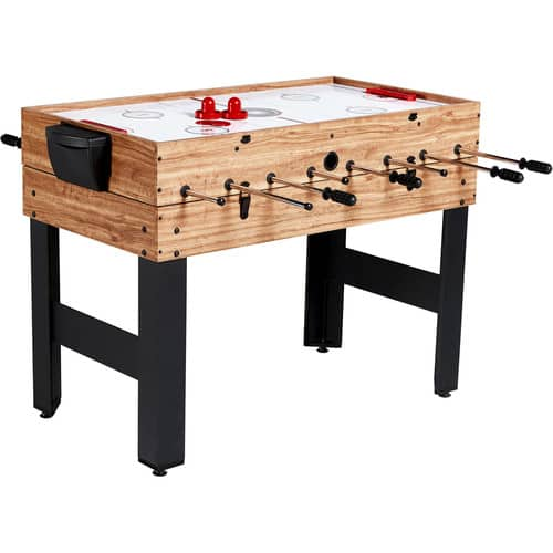 MD Sports 48 Inch 3-In-1 Combo Game Table, 3 Games with Billiards, Hockey and Foosball $79 at Walmart