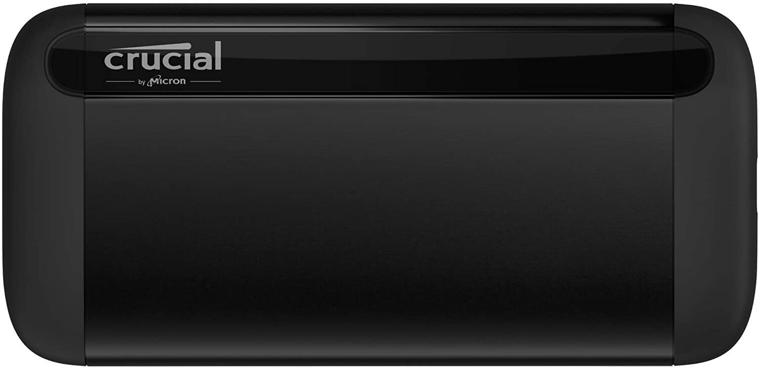 Amazon.com: Crucial X8 1TB Portable SSD – Up to 1050MB/s – USB 3.2 – External Solid State Drive, USB-C, USB-A – CT1000X8SSD9: Computers & Accessories $95