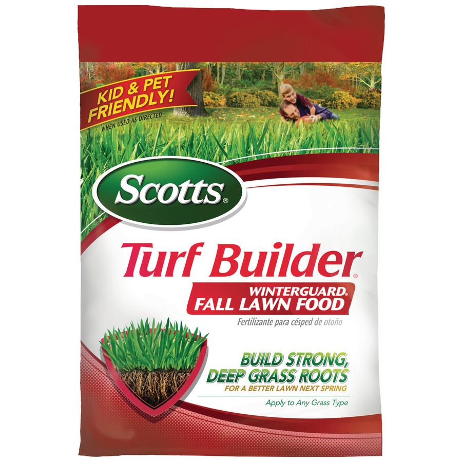 Scotts Turf Builder Winterguard Fertilizer 15 LBS @ $13.97 at Lowes