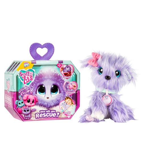 Little Live Pets Scruff-a-Luvs, Lilac $9.79 + ship