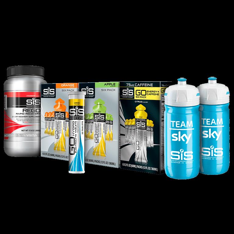 Science in sport Team Sky Bundle performance gels 40% off $40.79
