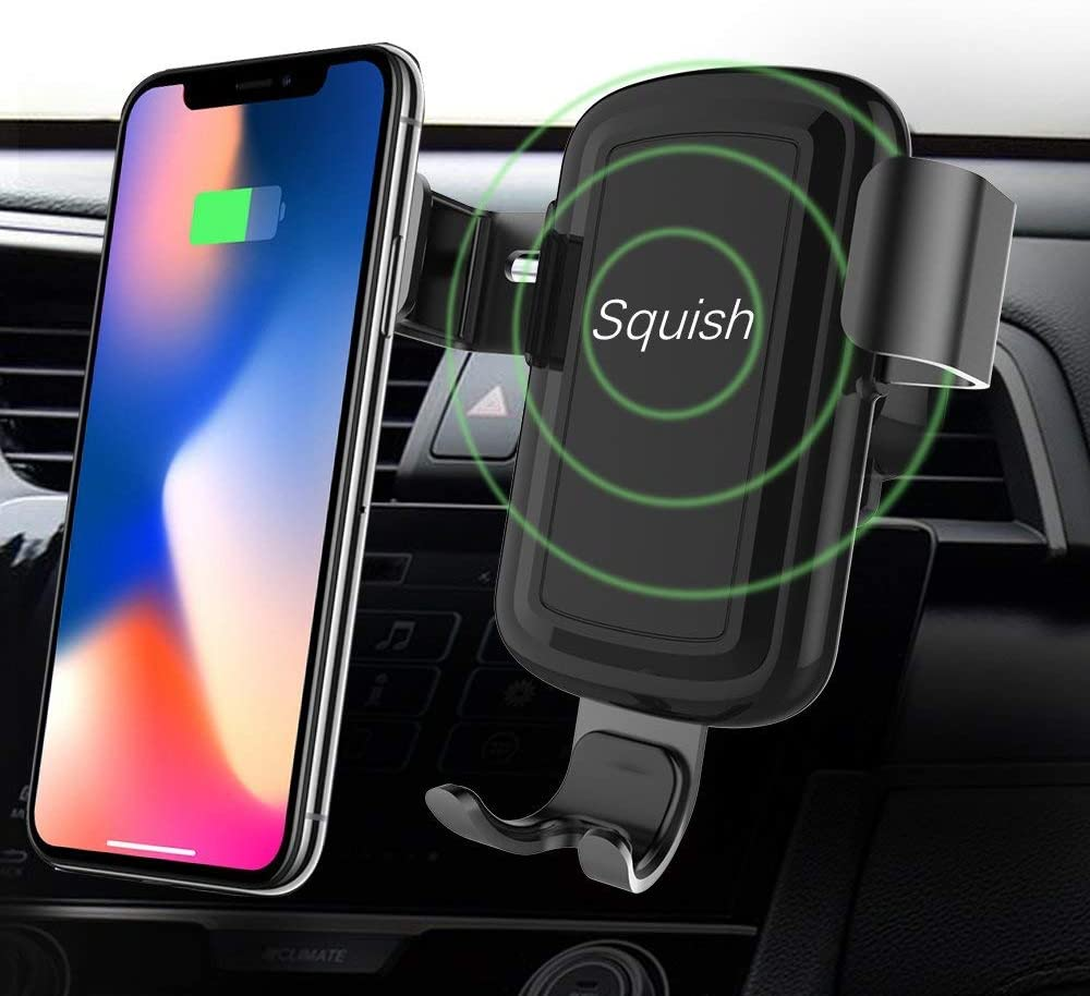 Squish Wireless Charger and Car Mount - $16.49 AC