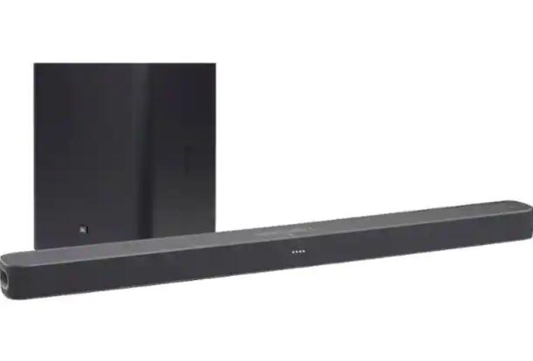 "JBL Link Bar 100W Soundbar w/ Google Assistant + JBL 10"" 150W Wireless Powered Subwoofer $199"