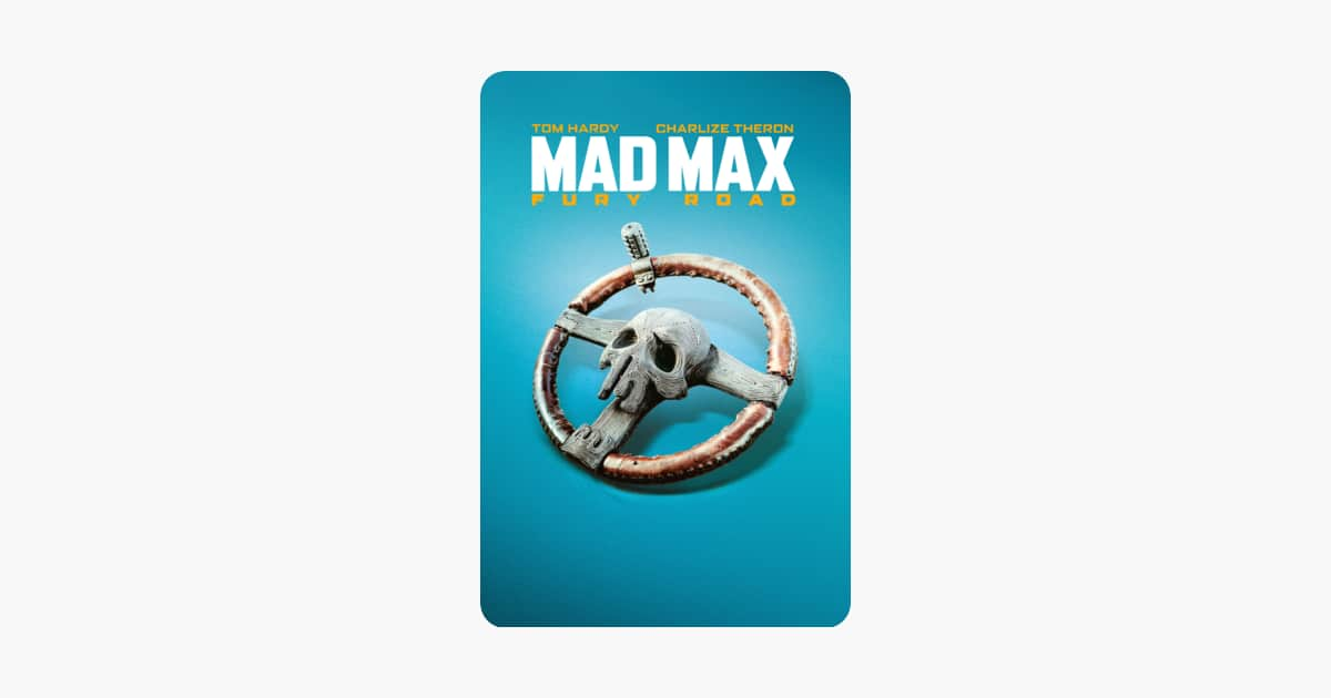 Digital 4K UHD Movies: Mad Max Fury Road - Itunes $7.99