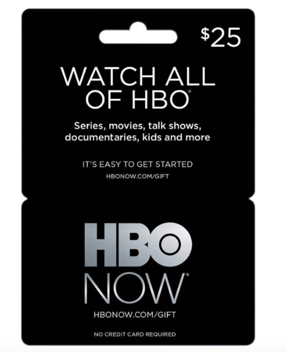 25 Hbo Now Gift Card For 15 Best Buy