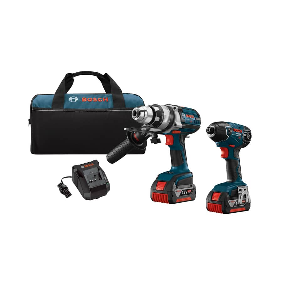 Bosch 2-Tool 18-Volt Lithium Ion (Li-ion) Cordless Combo Kit with Soft Case $199 or lower after coupon