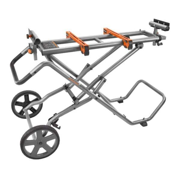 RIDGID Mobile Miter Saw Stand with Mounting Braces $99 plus $7 shipping or free store pickup