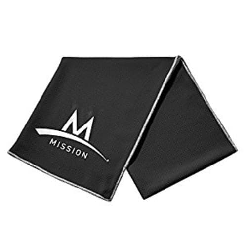 Mission Enduracool Techknit Cooling Towel, Large [Black] $6.99 @Amazon
