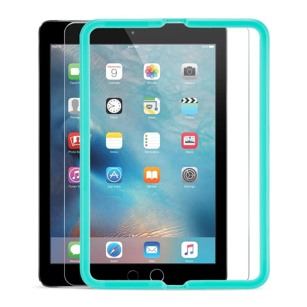 ESR 9H Tempered Glass Screen Protector w/ Install Tool for iPad 9.7/Air 2/Air/iPad 2017 $8.99