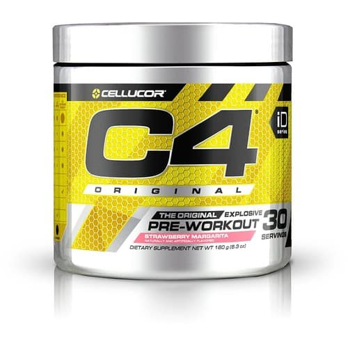 Cellucor, C4 Original Pre Workout Powder with Creatine, Nitric Oxide, Beta Alanine and Energy, G4v2, Strawberry Margarita, 30 Servings (New Formula) $20.9@amazon