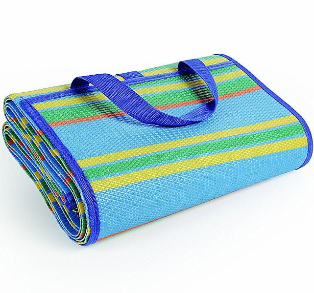 Camco Handy Mat with Strap, Perfect for Picnics, Beaches, RV and Outings, Weather-Proof and Mold/Mildew Resistant $4.87