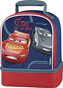 Thermos Dual Compartment Lunch Kit Car $2.96 add on item @ Amazon
