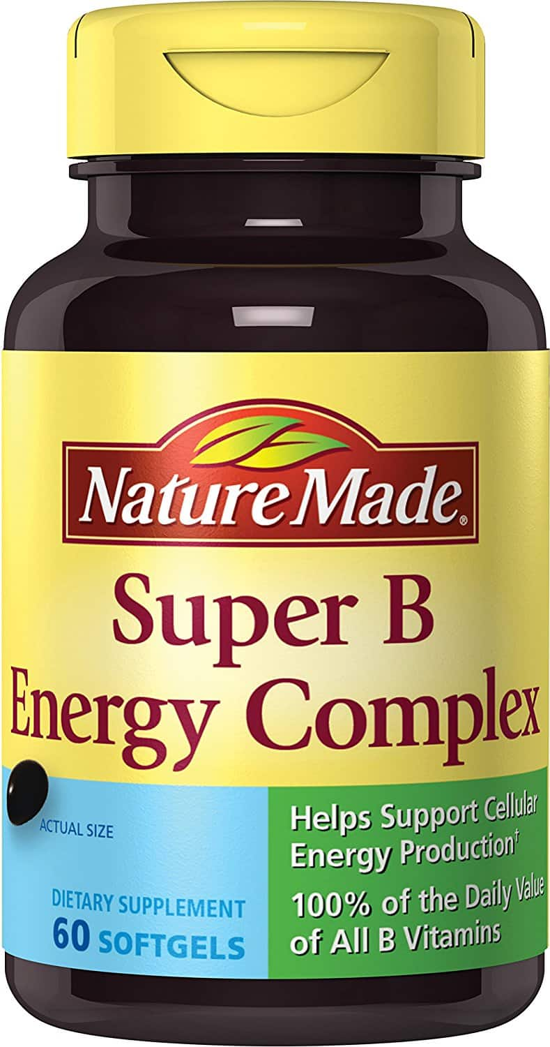 Nature Made Super B Complex Full Strength Softgel, 60 Count $3.82+free shipping@amazon