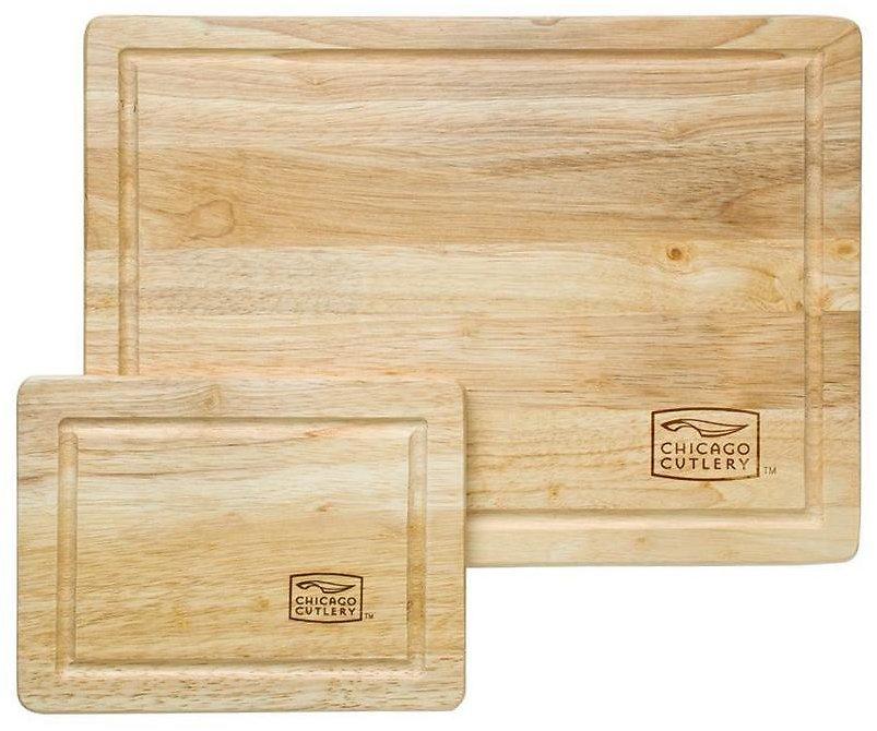 Chicago Cutlery 2-Pack 14-in L X 10-in W Cutting Board $7.49 + ship