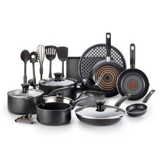T-Fal 20pc Cookware Set Black $49.99 $50