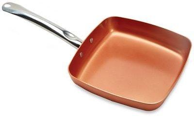 Copper Chef™ 9.5-Inch Square Nonstick Fry Pan $10