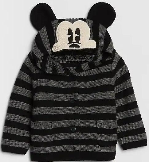 Disney Mickey Mouse Garter Cardigan $23.99