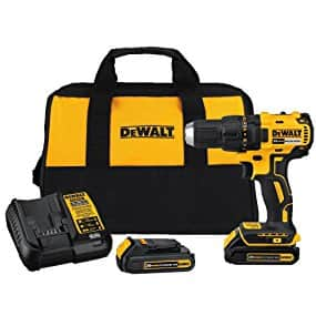 DEWALT DCD777C2 Brushless Drill at $99!