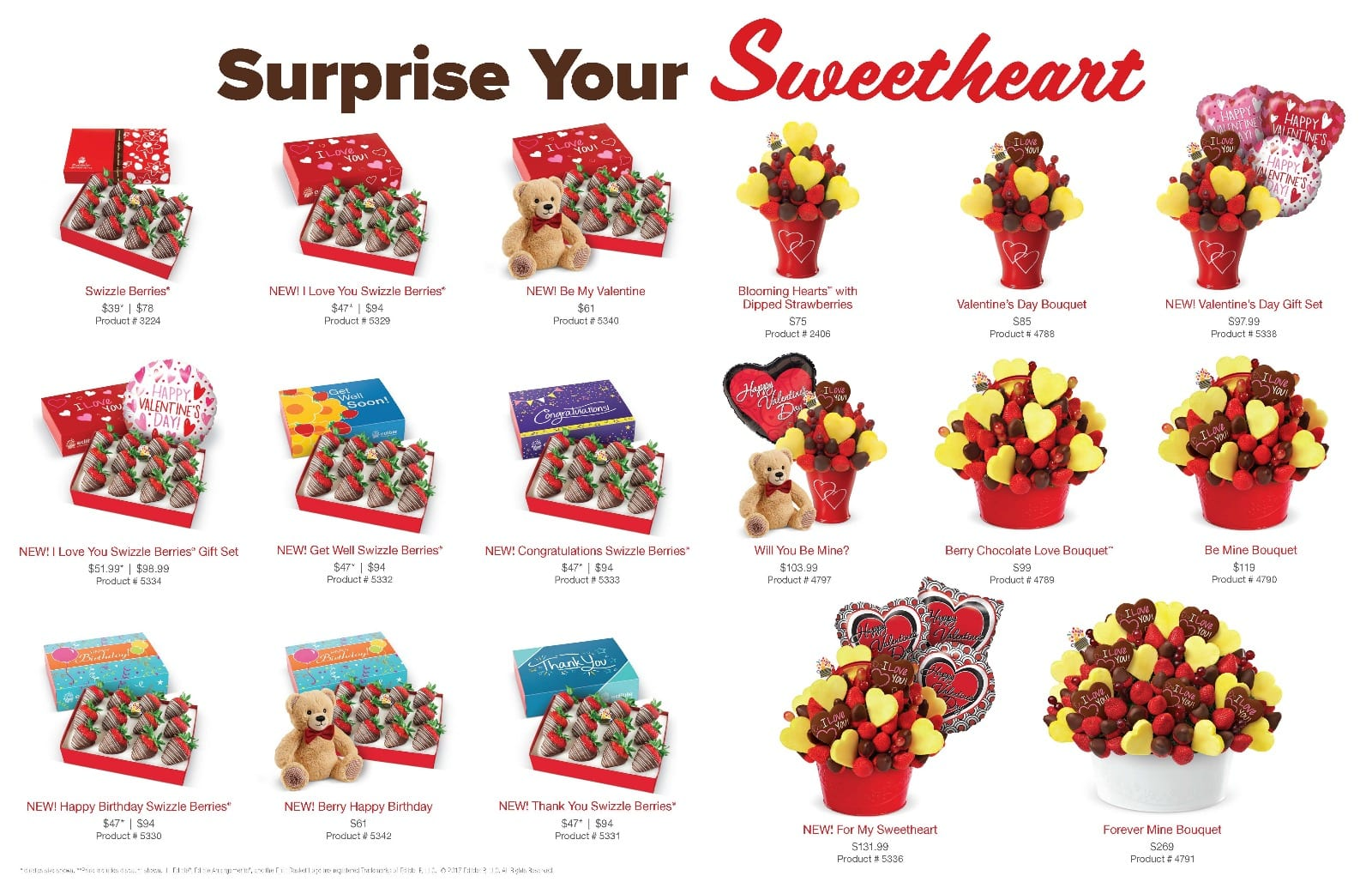 Edible Arrangement: Valentine's Day Gifts - 25% Off Gift Basket, chocolate covered strawberries & More