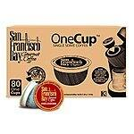 120 Count San Francisco Bay OneCup (K-Cup) Coffee, Fogchaser $35.78 with S&S
