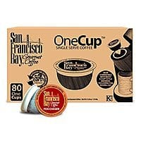 Amazon Deal: 120 Count San Francisco Bay OneCup (K-Cup) Coffee, Fogchaser $35.78 with S&S