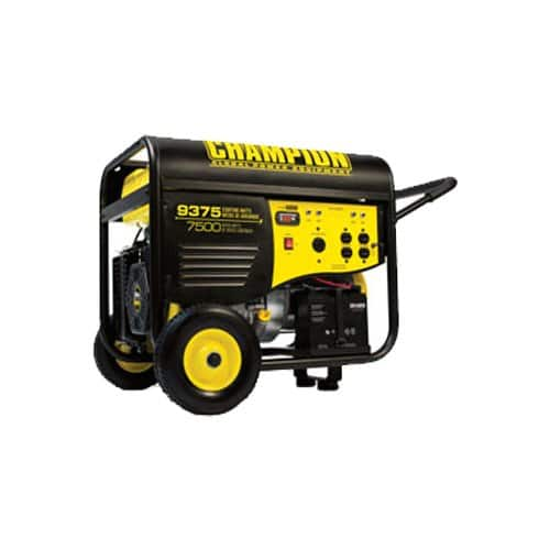 Champion 7500/9375 Watt Generator With Electric Start for $699.99+tax at Costco