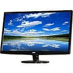 """24"""" Acer 1920x1080 TN 5ms LED Monitor w/speakers 119.99 + Free Shipping @ Newegg.com"""