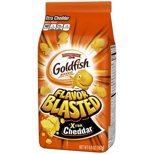 6-count Pepperidge Farm Goldfish Flavor Blasted Xtra Cheddar Crackers $7.96 w/ S&S