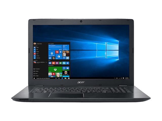 "Acer Aspire E5-774G-56SX 17.3"" Intel Core i5 7th Gen 7200U (2.50 GHz) NVIDIA GeForce GTX 950M 8 GB DDR4 Memory 256 GB SSD 1 TB HDD Windows 10 Home 64-Bit Gaming Laptop $639.99"
