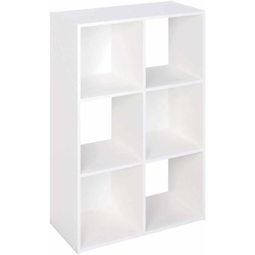 ClosetMaid 8996 Cubeicals Organizer, 6-Cube, White: Home & Kitchen $26.97@Amazon