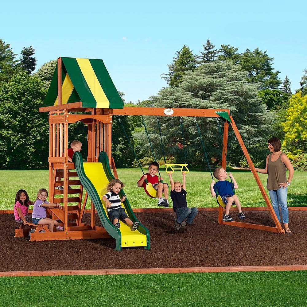Backyard Discovery Prestige Swing Set $350