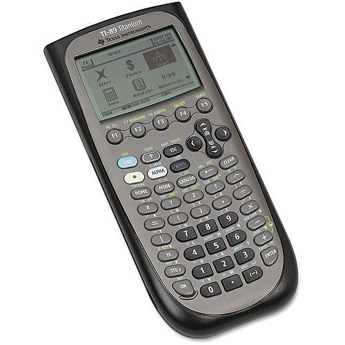 Texas Instruments TI-89 Titanium Programmable Graphing Calculator $104.79